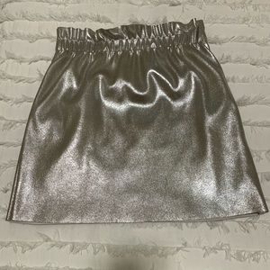 Silver ZARA Party Skirt